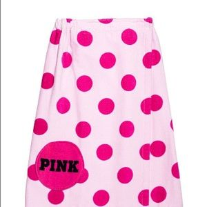 Pink Towel Wrap